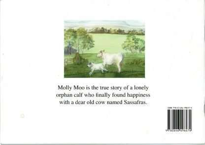 Molly Moo Back Cover