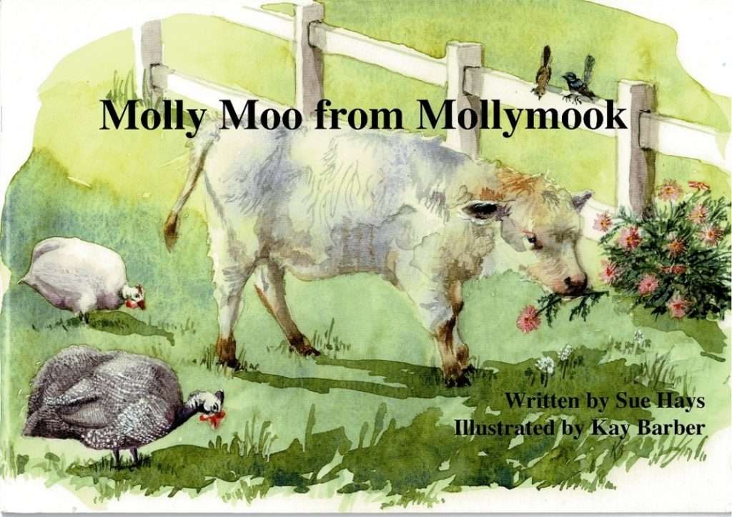 Molly Moo from Mollymook by Sue Hays front cover